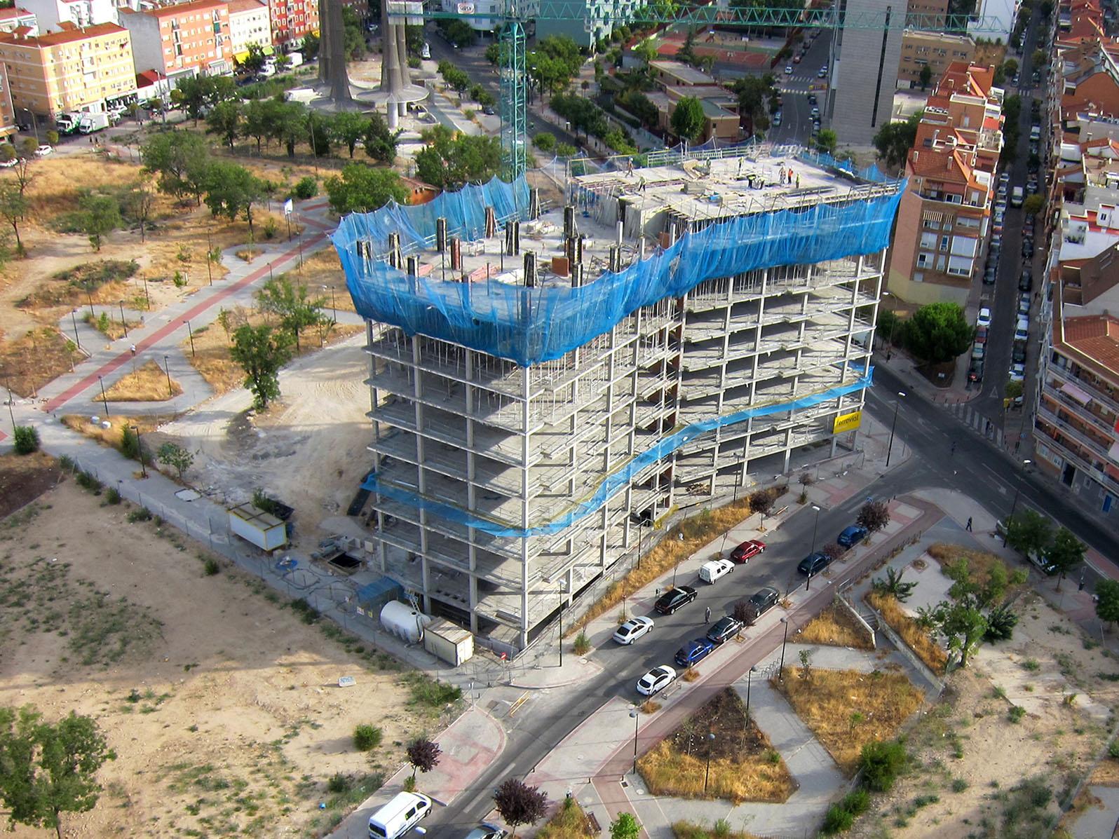 Grupo Convenio. Estructuras de hormigón - Edificación y obra civil - MADRID